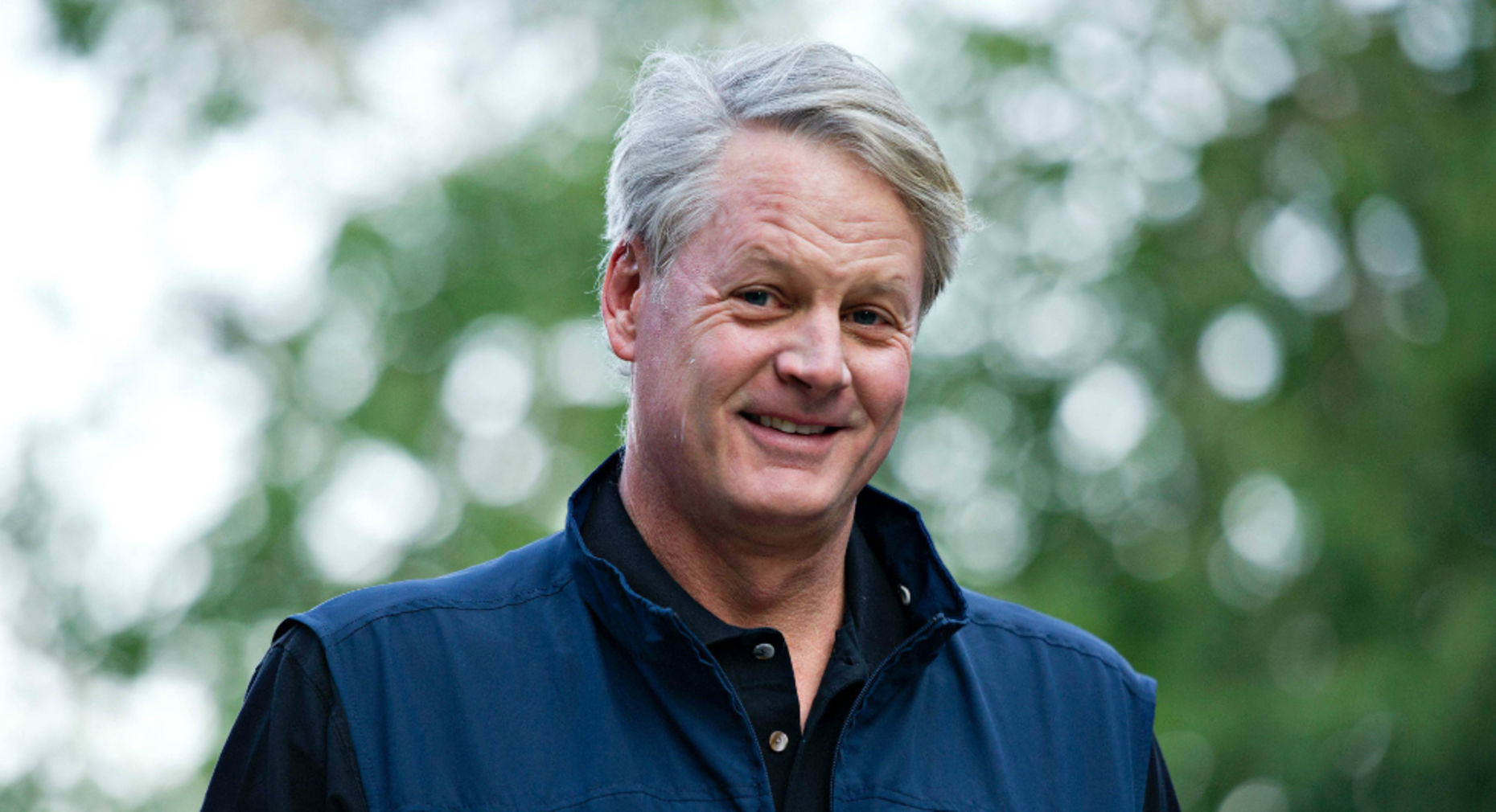 Ebay CEO John Donahoe. Photo by Bloomberg.