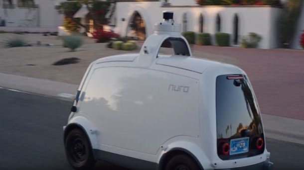 Uber Talks to SoftBank-Backed Nuro About Autonomous Food Delivery
