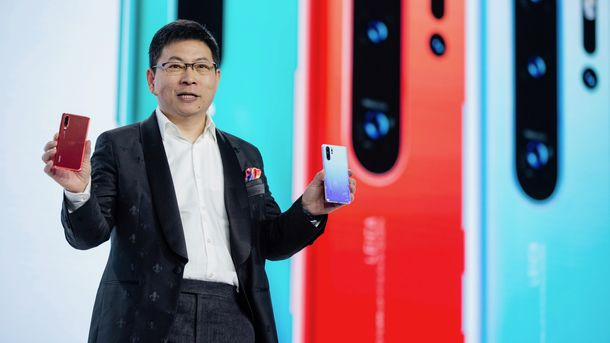 Huawei Consumer Electronics Chief Braces for 'Tough Time'