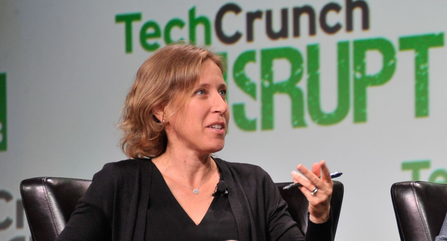 YouTube chief Susan Wojcicki. Photo by TechCrunch.