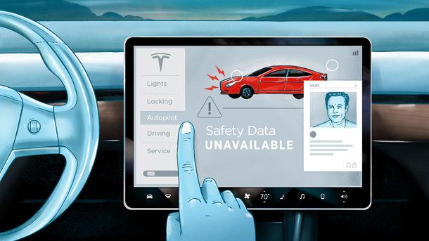 Studies Don't Support Elon Musk's Autopilot Safety Claims