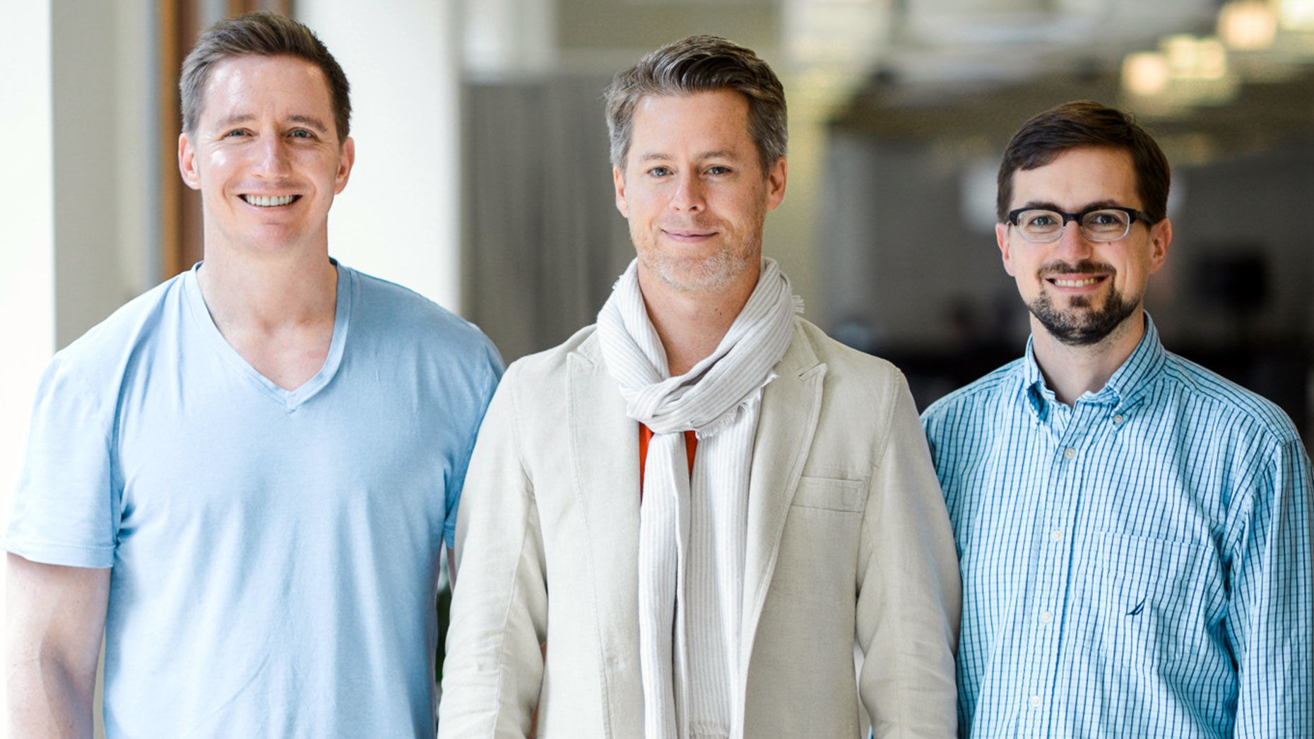 Cockroach Labs co-founders (from left): Peter Mattis, Spencer Kimball, and Ben Darnell. Photo by Cockroach Labs.