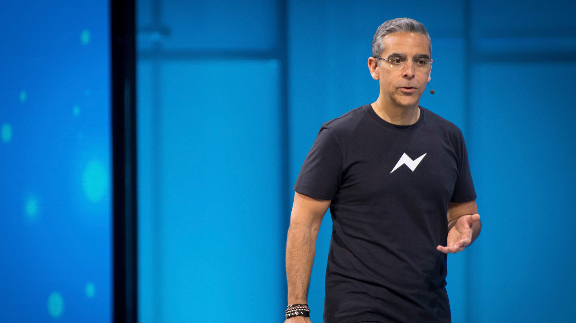 David Marcus, the head of Facebook's cryptocurrency project. Photo by Bloomberg