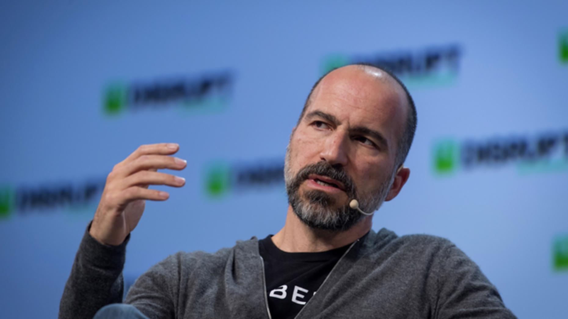Uber CEO Dara Khosrowshahi. Photo: Bloomberg