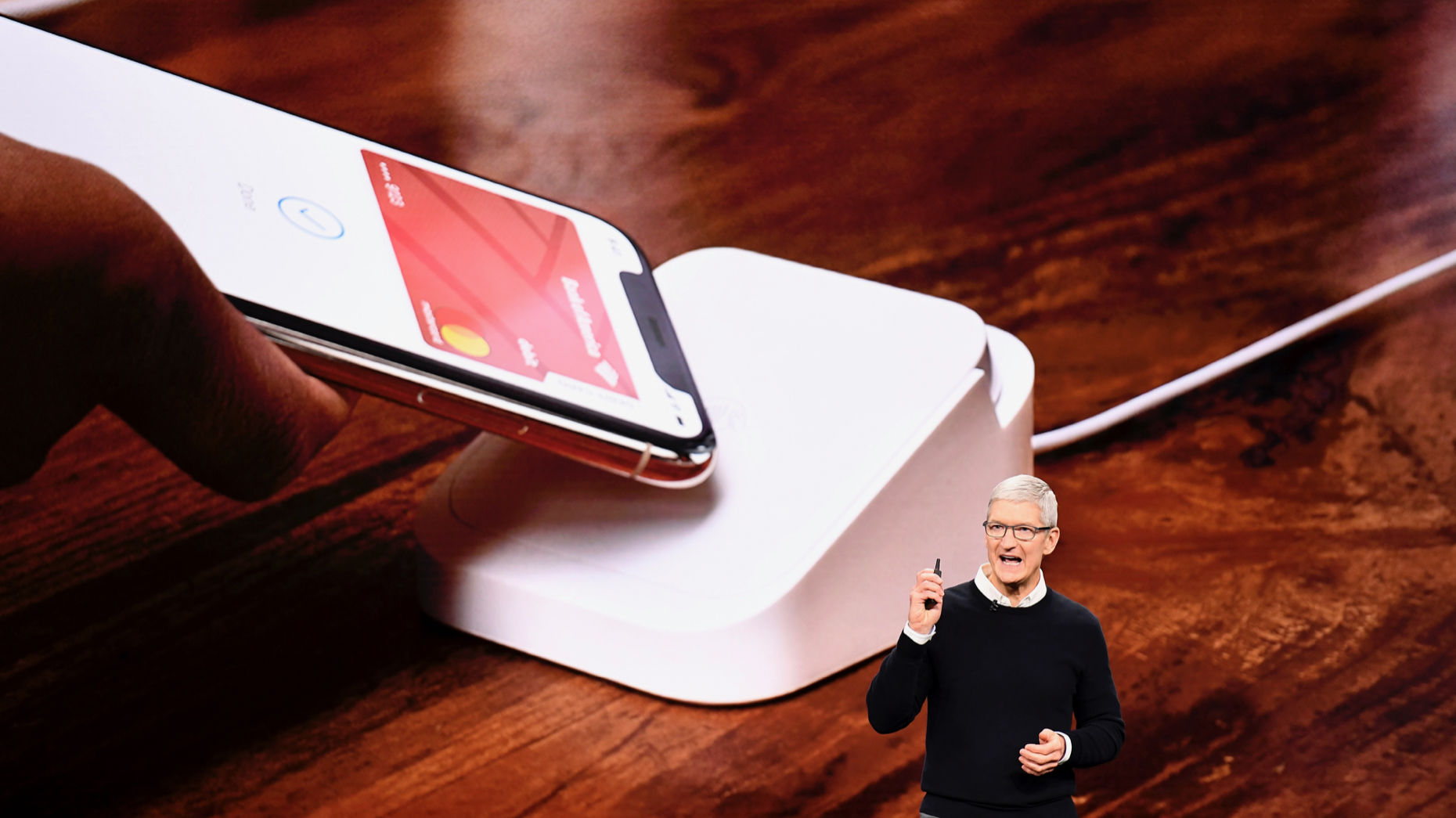 Apple CEO Tim Cook in March. Photo by Bloomberg