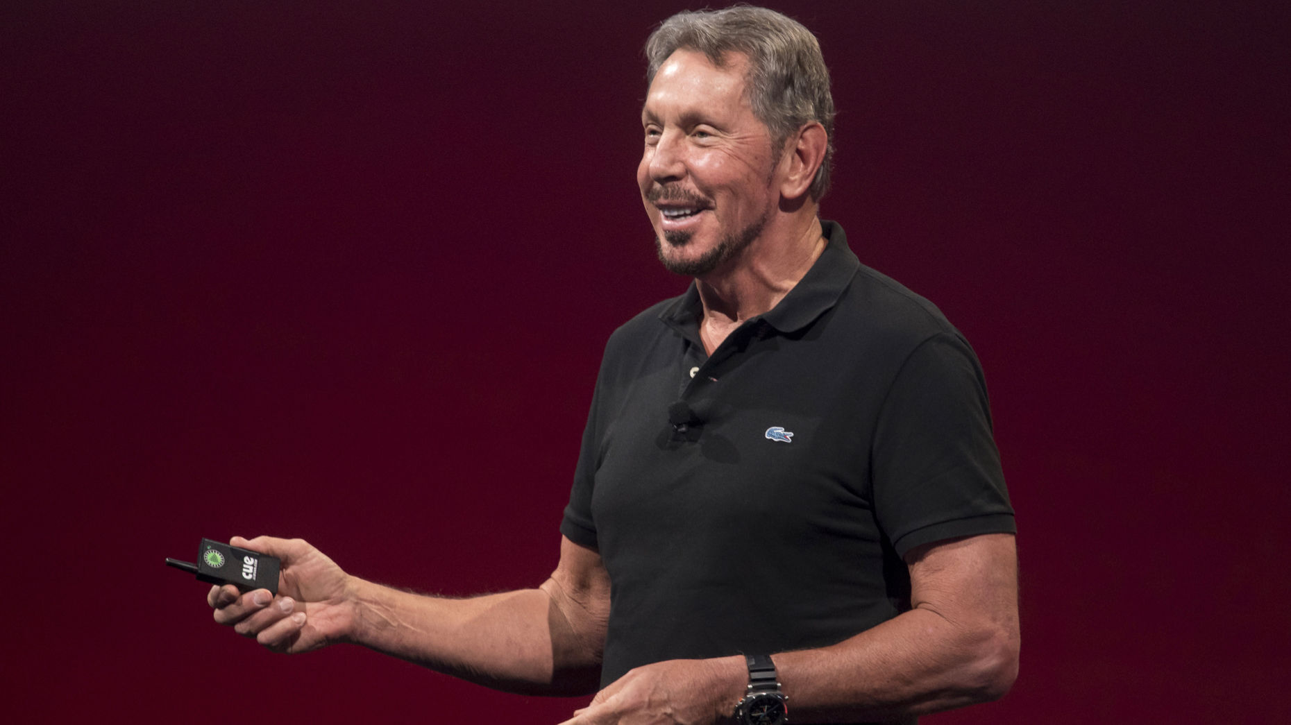 Oracle chairman and chief technology officer Larry Ellison. Photo by Bloomberg