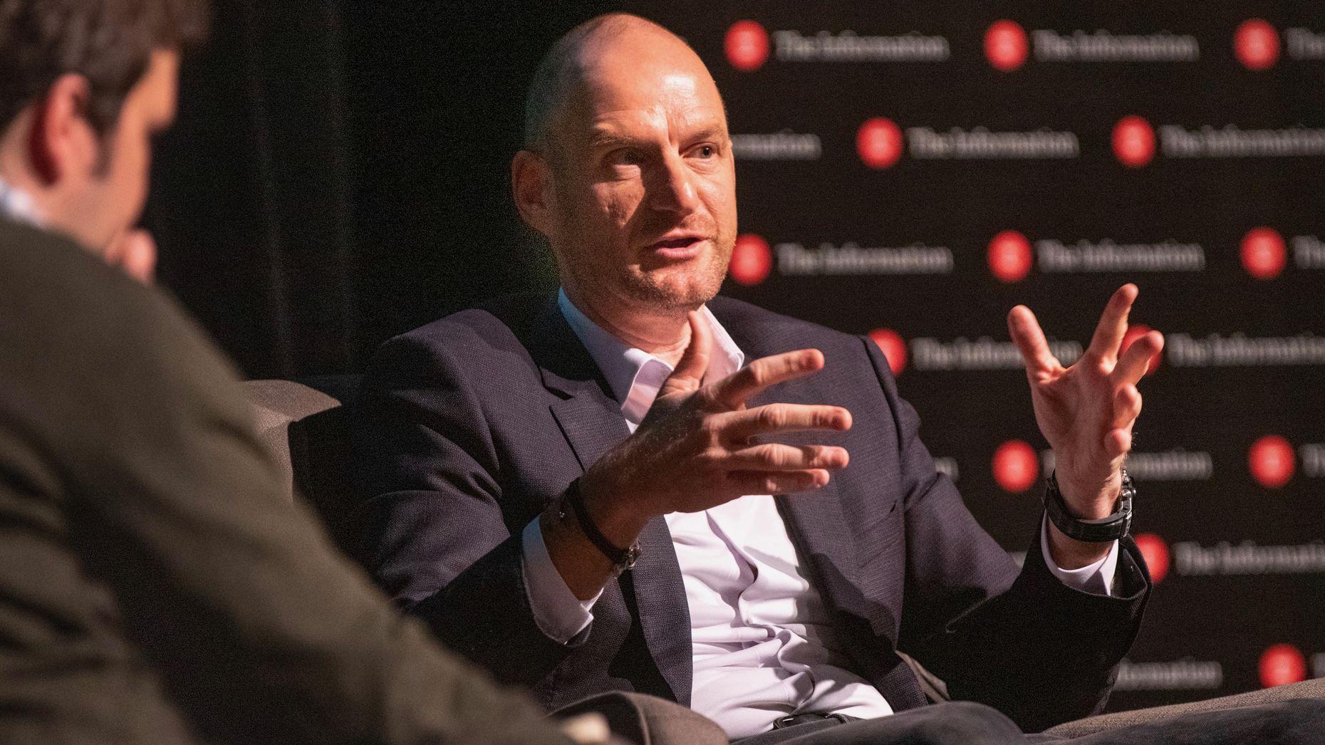 Softbank's Michael Ronen at The Information's Autonomous Vehicle Summit on Thursday. Photo by Erin Beach