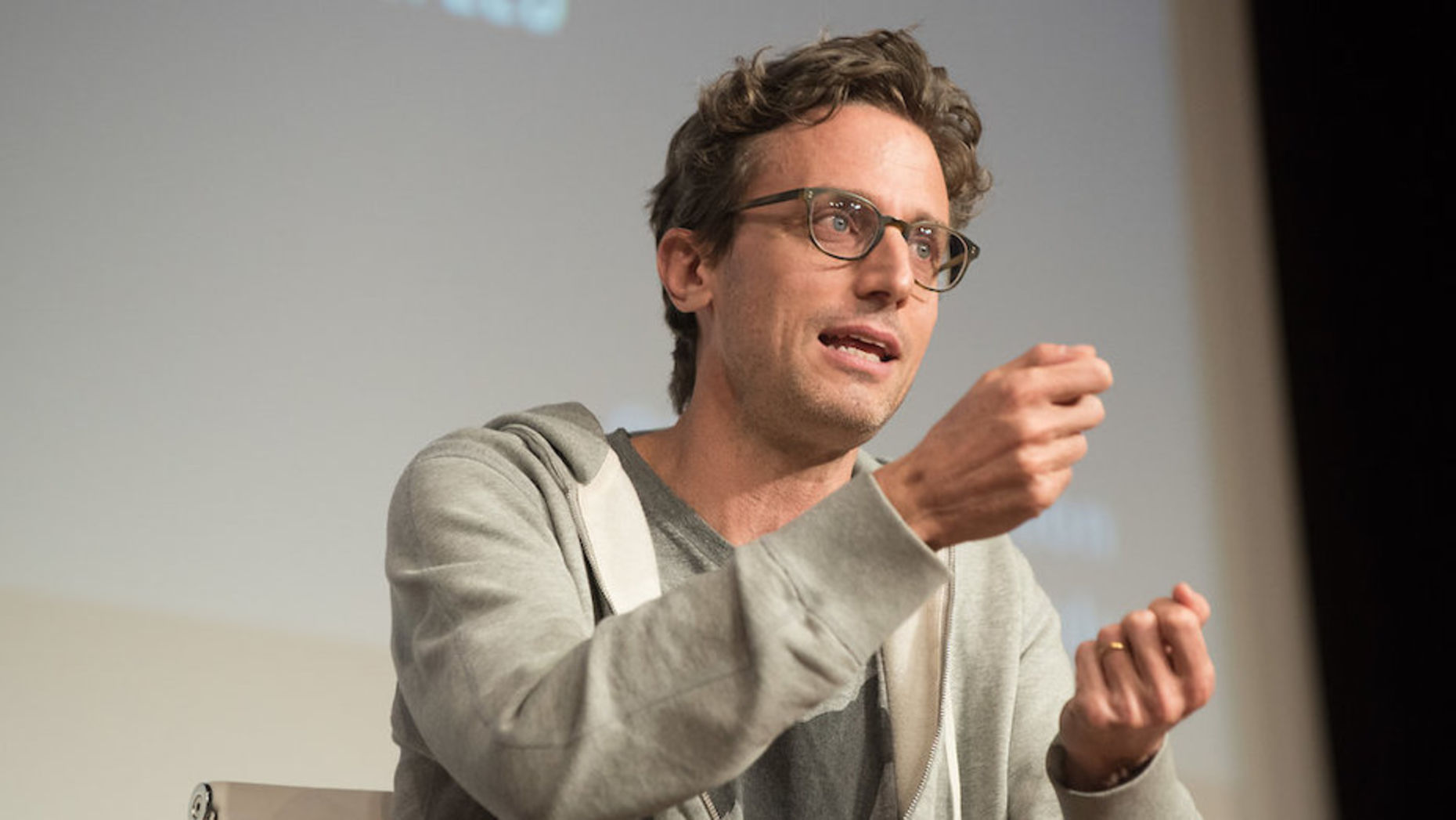 BuzzFeed CEO Jonah Peretti at 2017's Subscriber Summit.