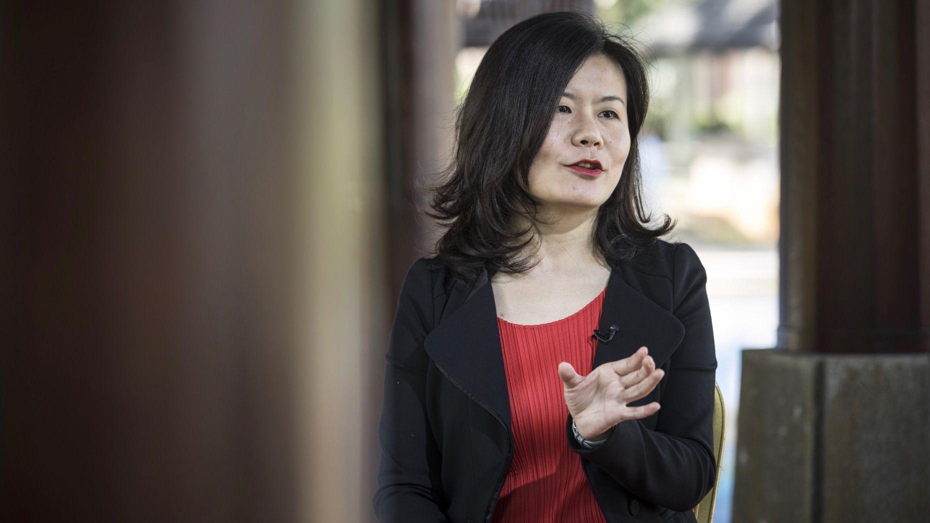 Miranda Qu, co-founder of Xiaohongshu. Photo by Bloomberg.
