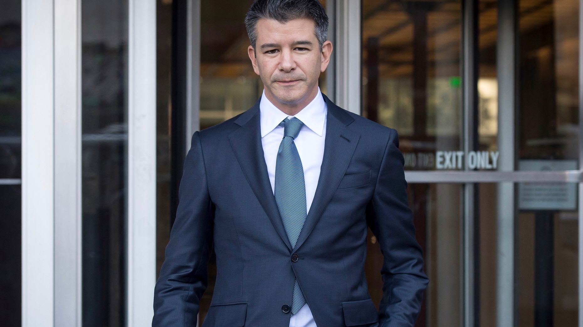 Travis Kalanick. Photo by Bloomberg