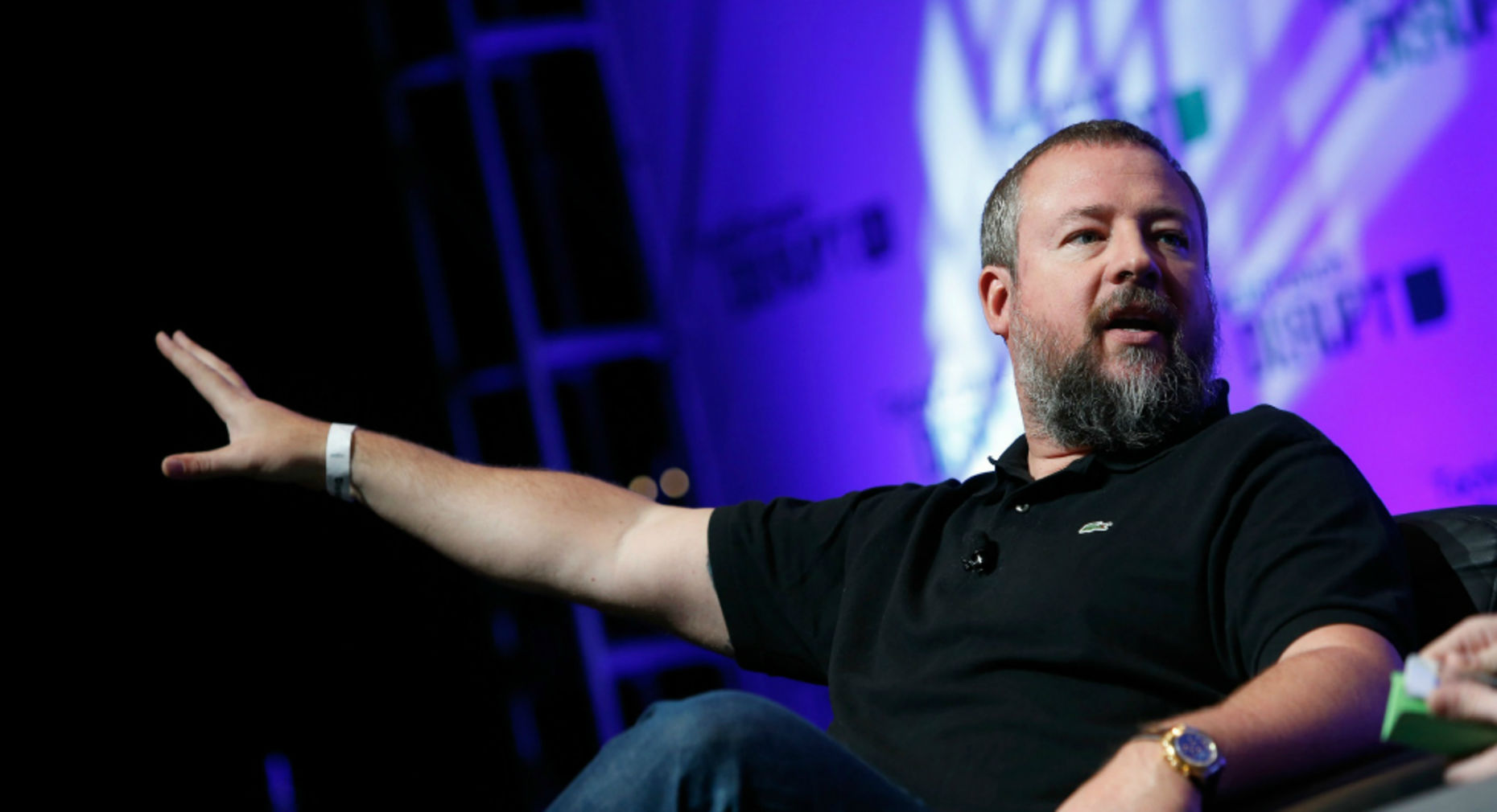 Vice co-founder Shane Smith. Photo by TechCrunch.