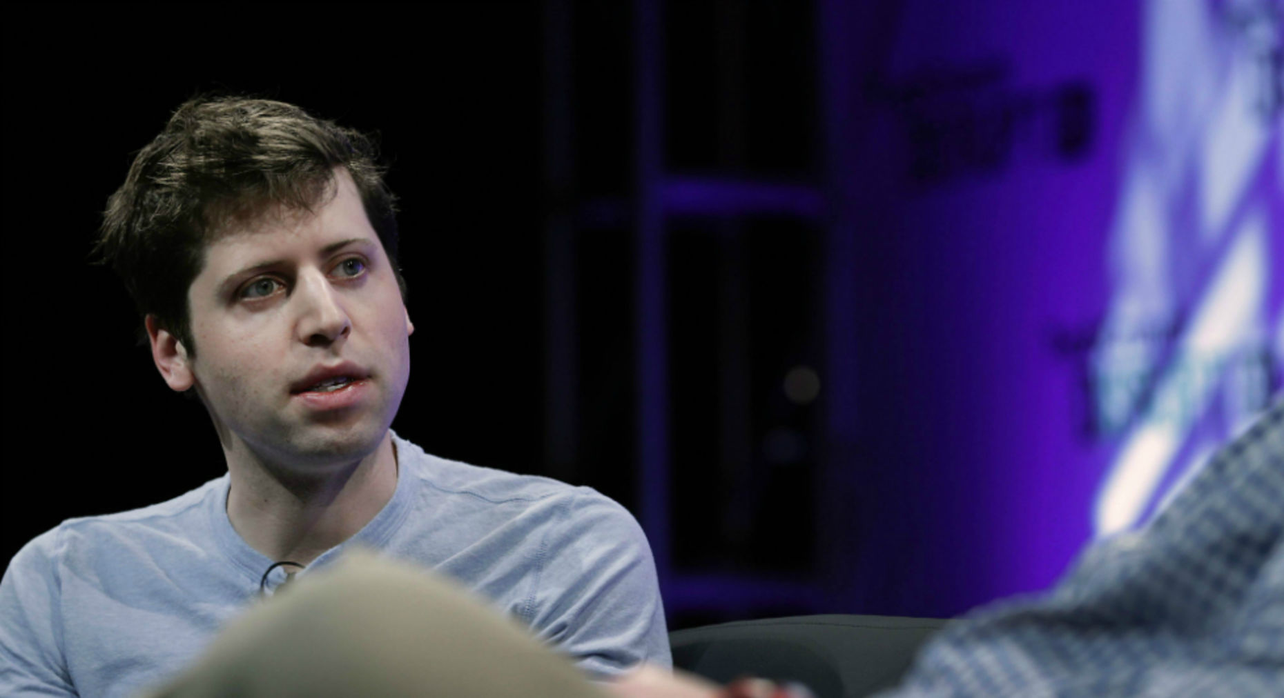 Sam Altman, president of Y Combinator. Photo by Bloomberg.