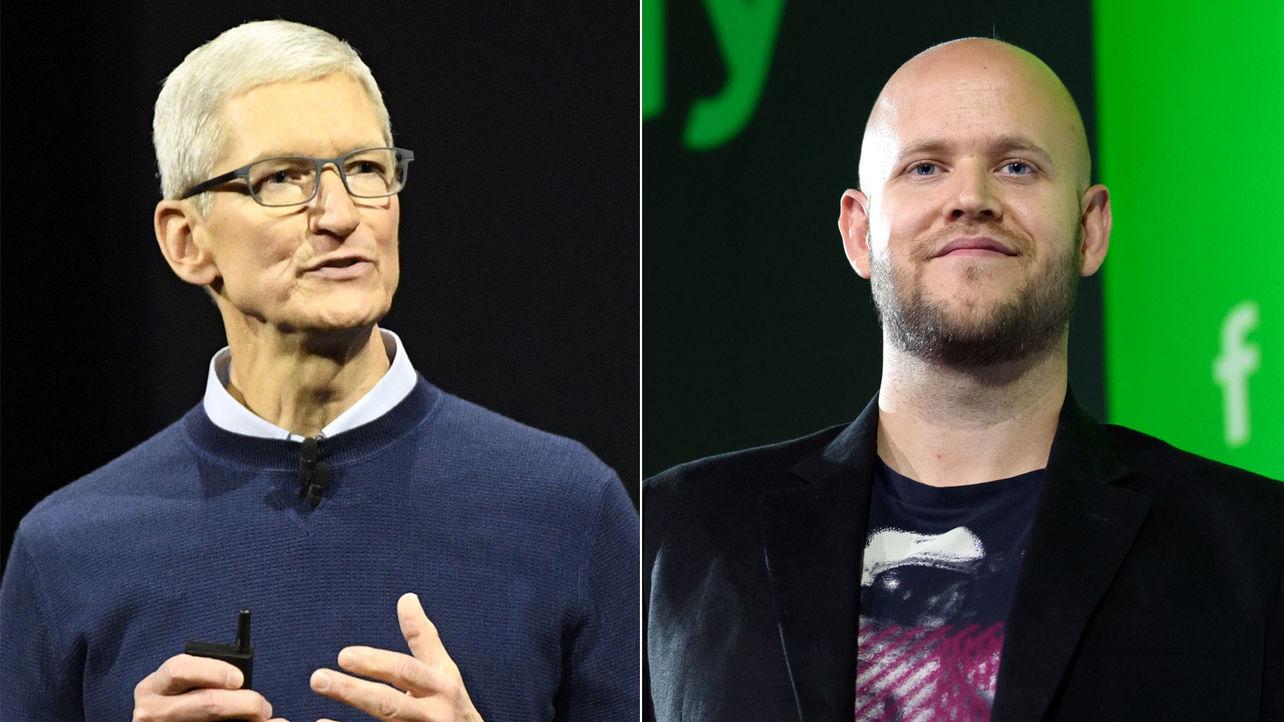 Apple, Spotify Discuss Siri Truce, as Antitrust Battle Looms