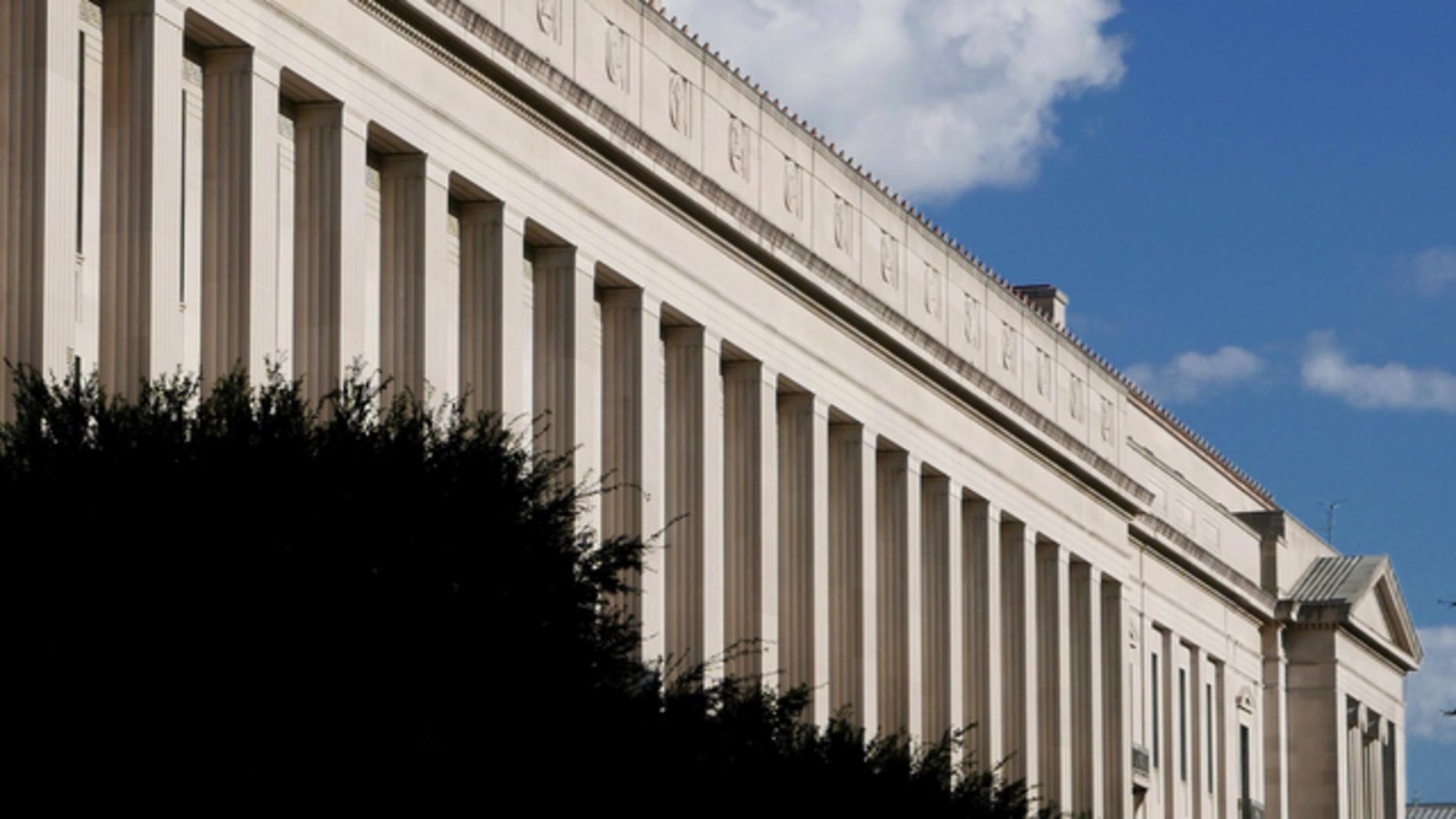 U.S. Department of Justice, Washington, D.C. Photo: AP
