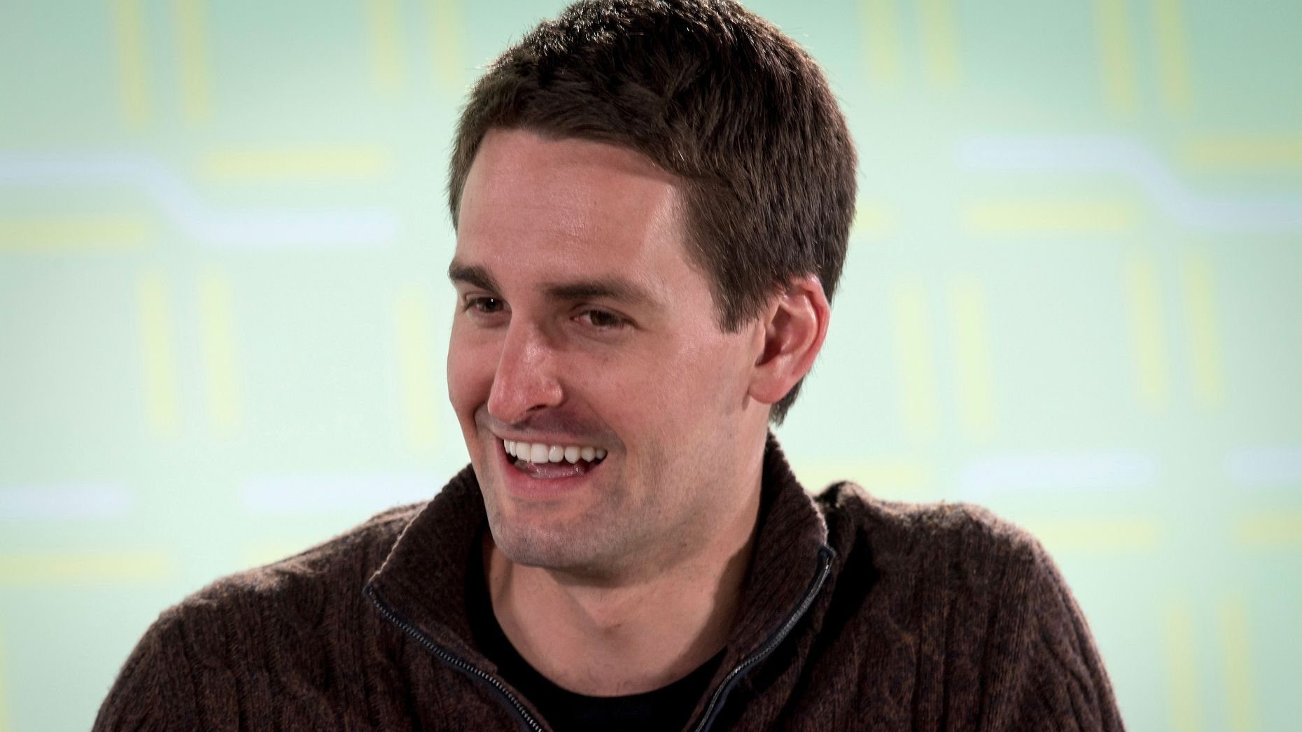 Snap CEO Evan Spiegel. Photo by Bloomberg