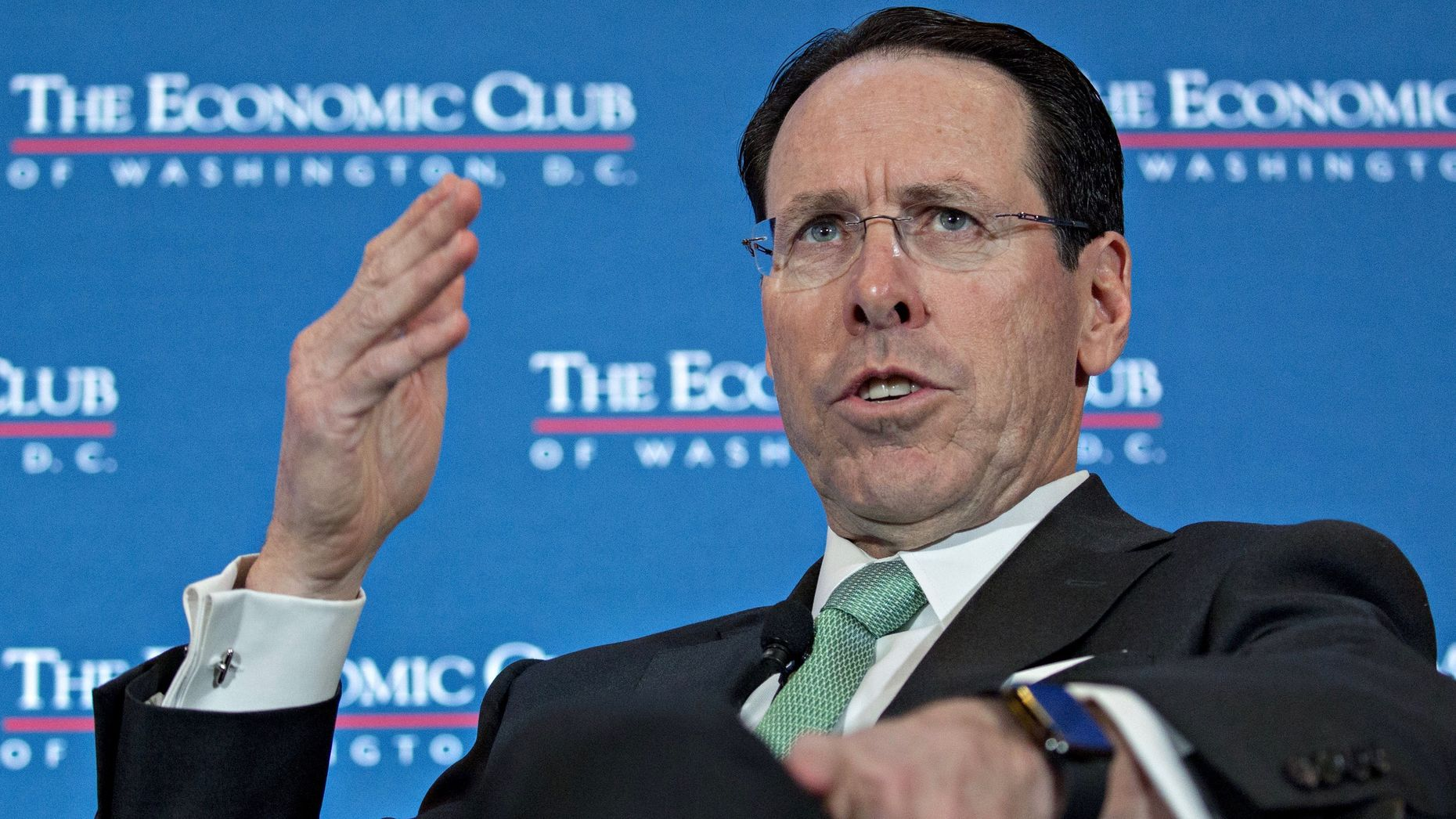 AT&T CEO Randall Stephenson. Photo by Bloomberg