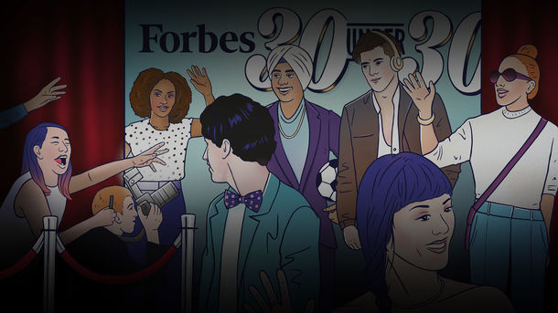 The Forbes '30 Under 30' Hustle