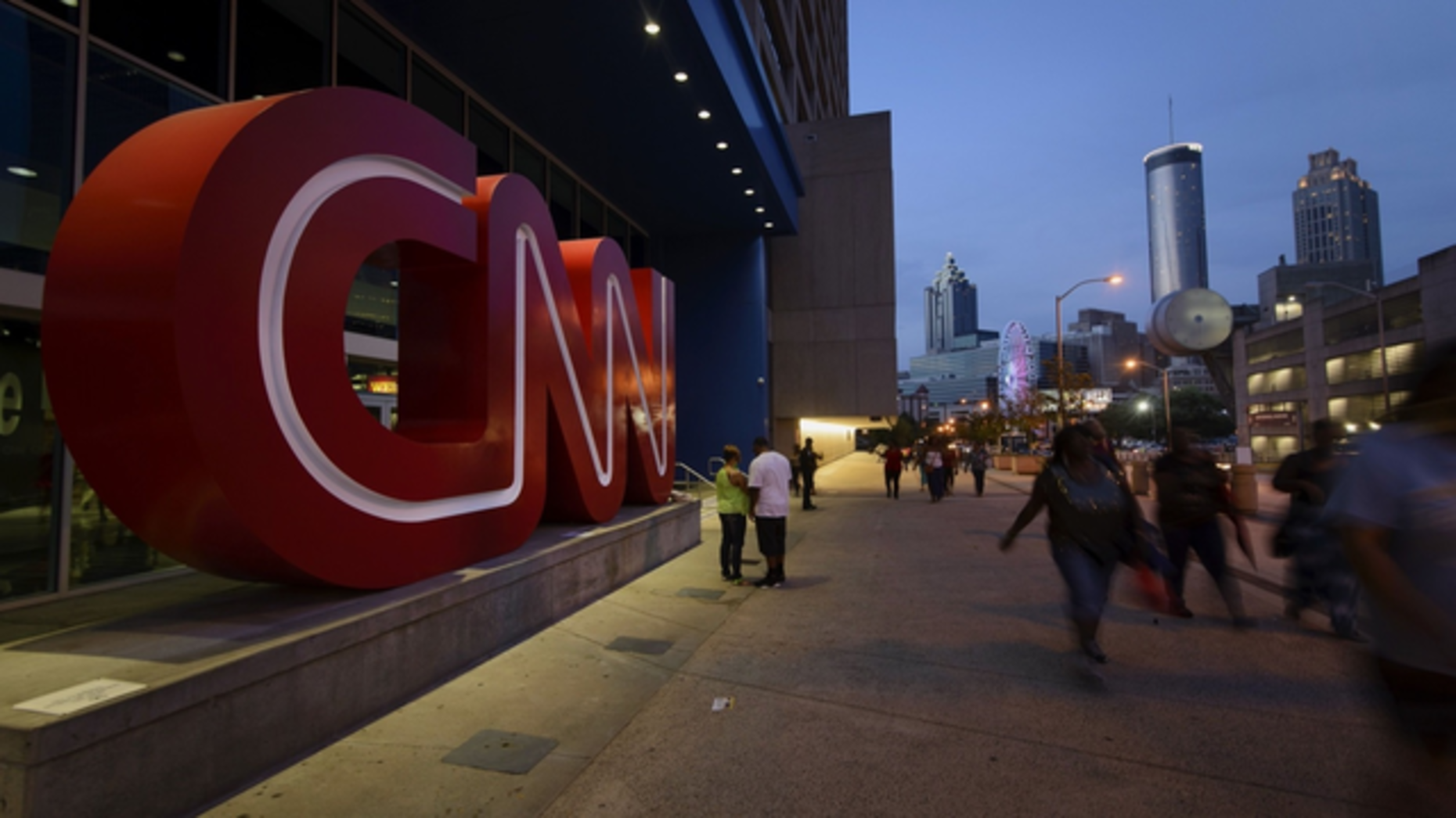 CNN's offices in Atlanta. Photo by Bloomberg