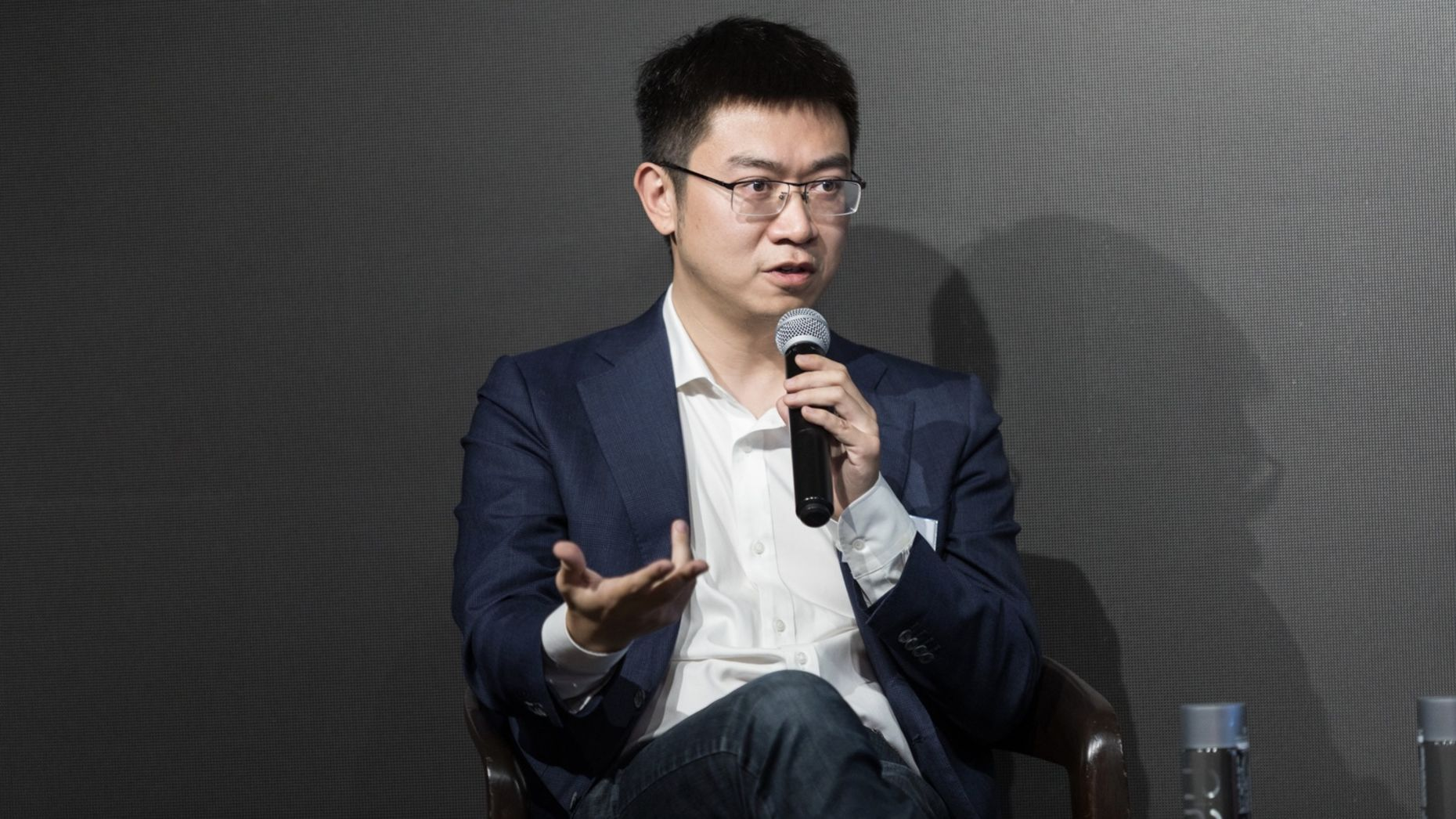 Meng Xing, chief operating officer of Didi's autonomous driving unit. Photo by SunYiye@UKON