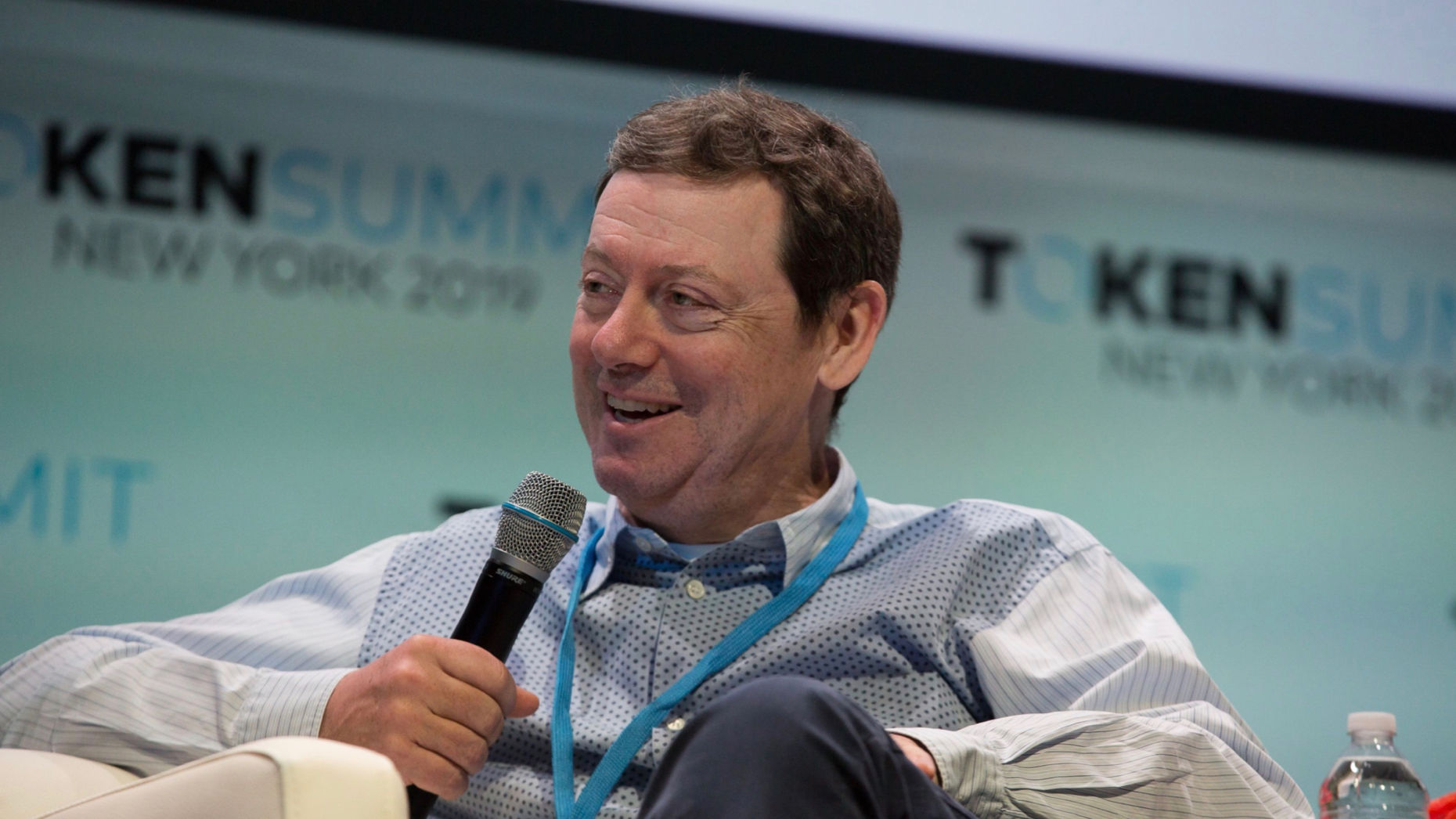 Fred Wilson, co-founder and partner at Union Square Ventures, in May. Photo by Bloomberg