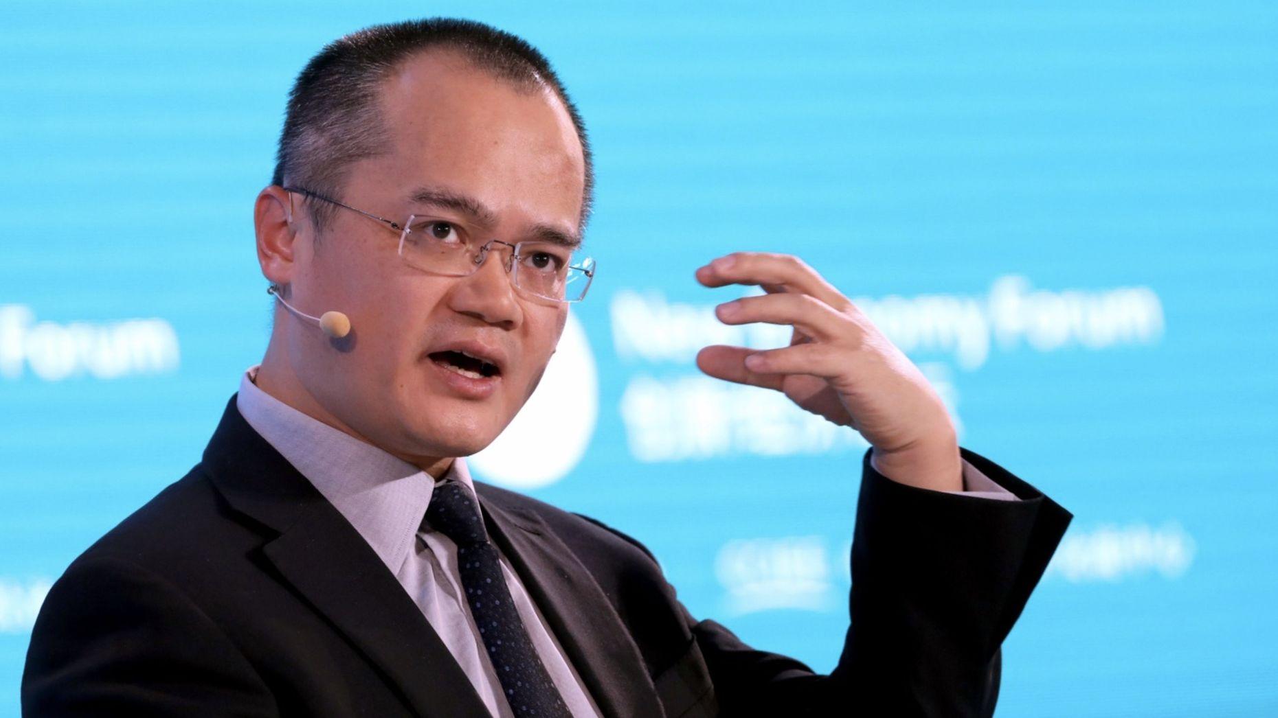 Meituan CEO Wang Xing. Photo by Bloomberg
