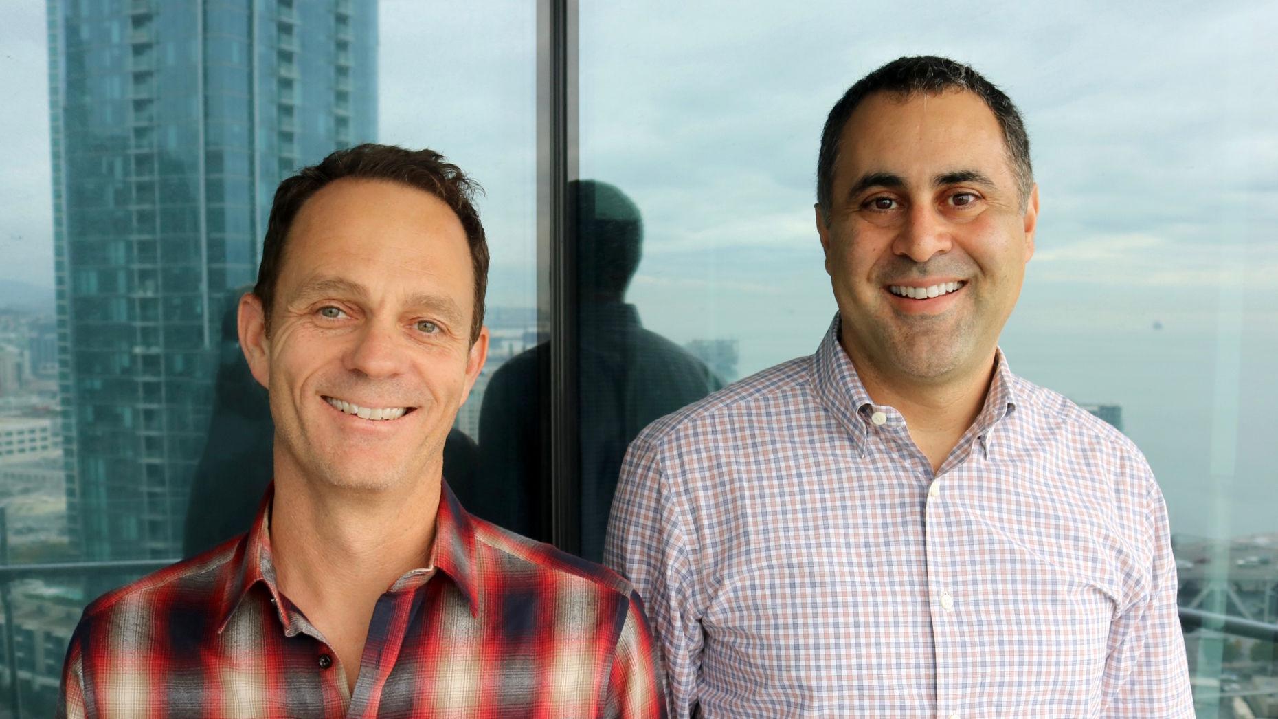TerraTrue COO Chris Handman (left) and CEO Jad Boutros. Photo by TerraTrue