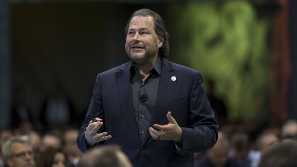 Why Salesforce's Benioff Will Step Down as Co-CEO in 2020