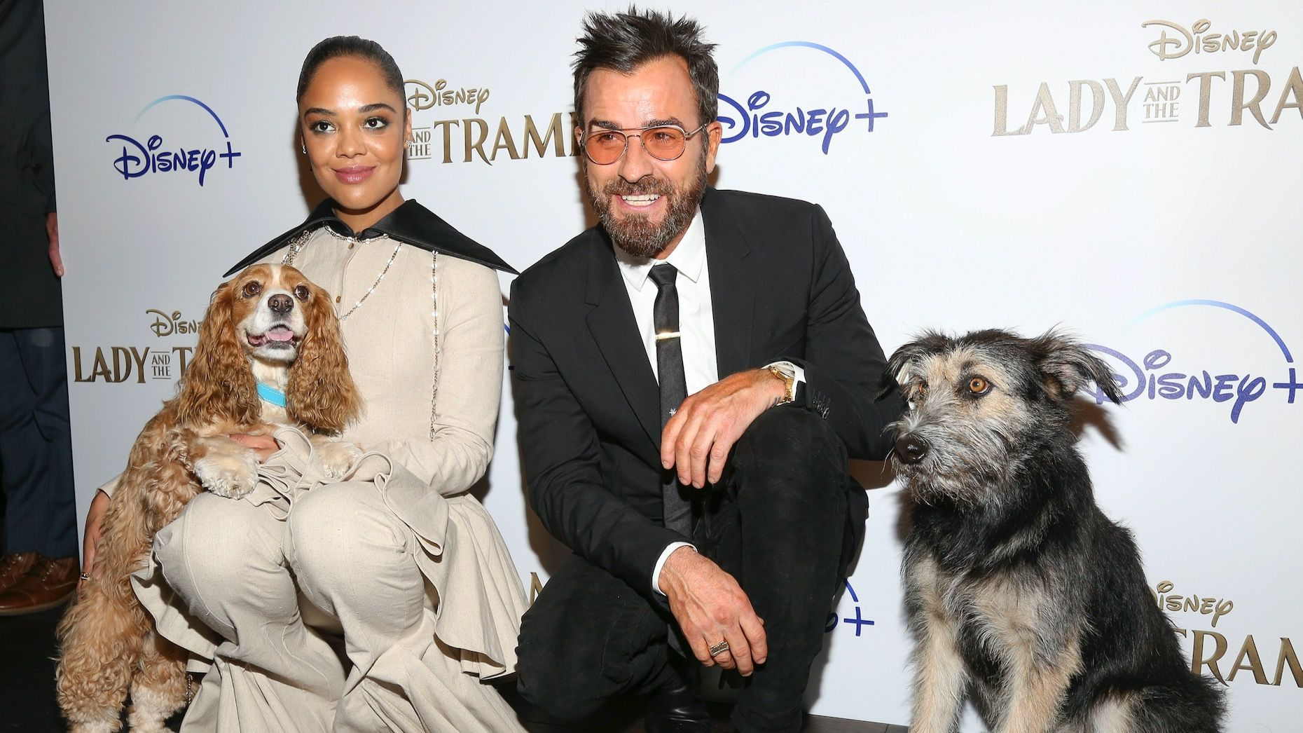 """Cast Members of """"Lady and the Tramp."""" Photo by AP."""