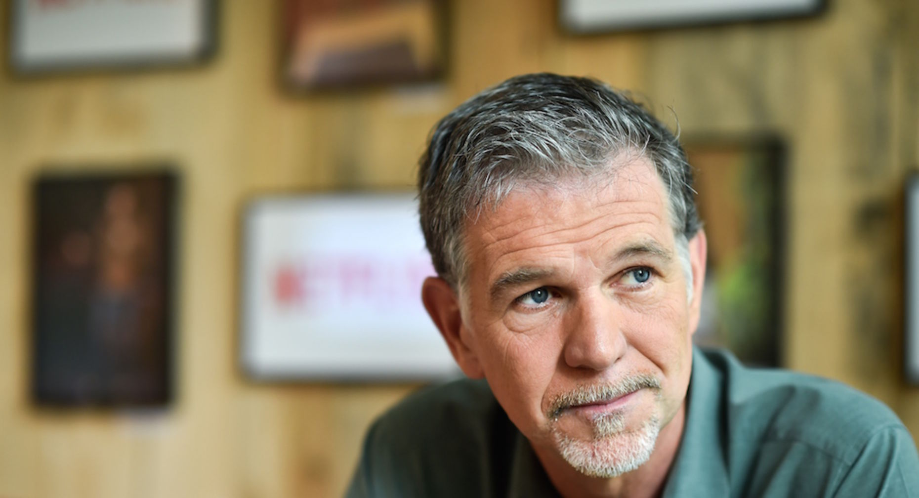 Netflix CEO Reed Hastings in Germany last month. Photo by Associated Press.