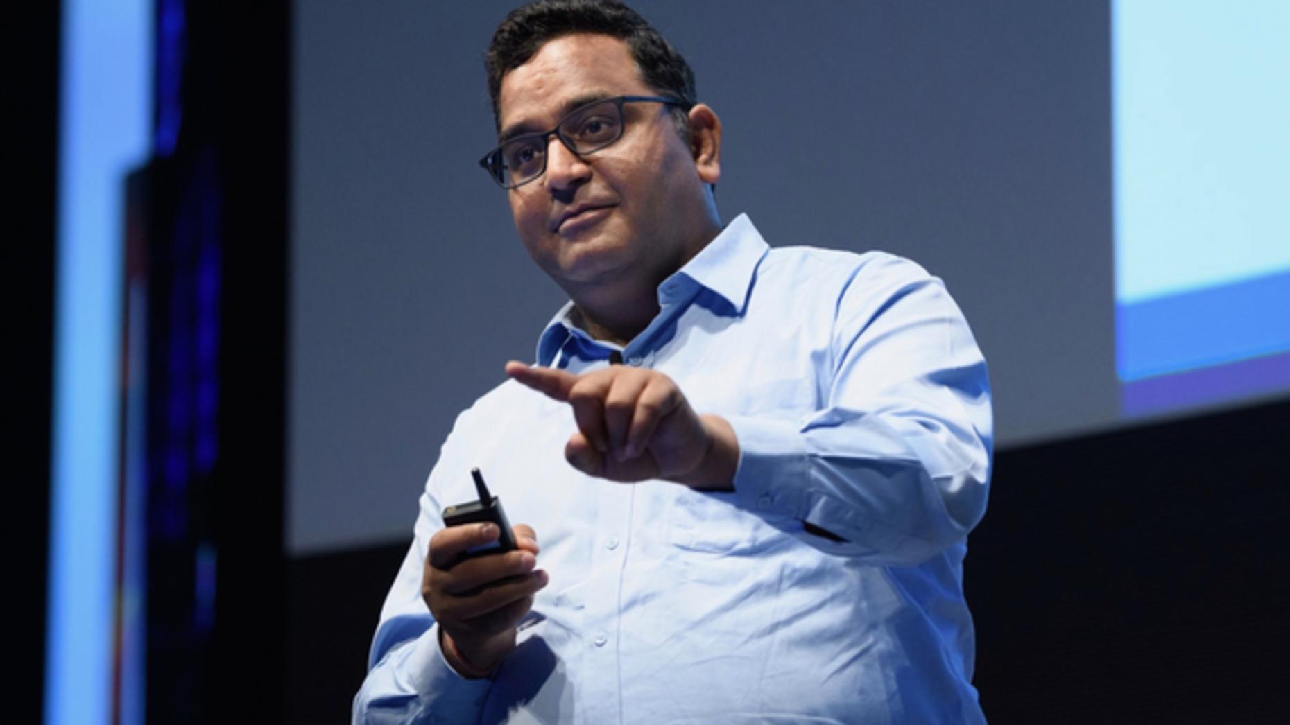 Paytm CEO Vijay Shekhar Sharma. Photo: Bloomberg