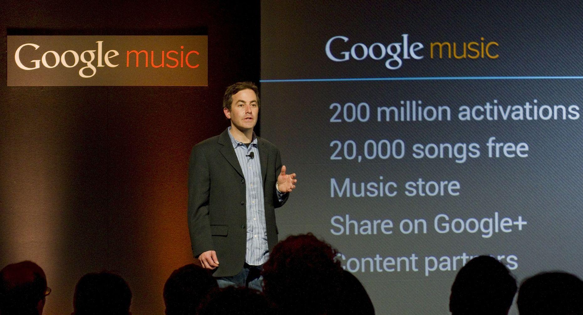 Google vice president Jamie Rosenberg. Photo by Bloomberg.