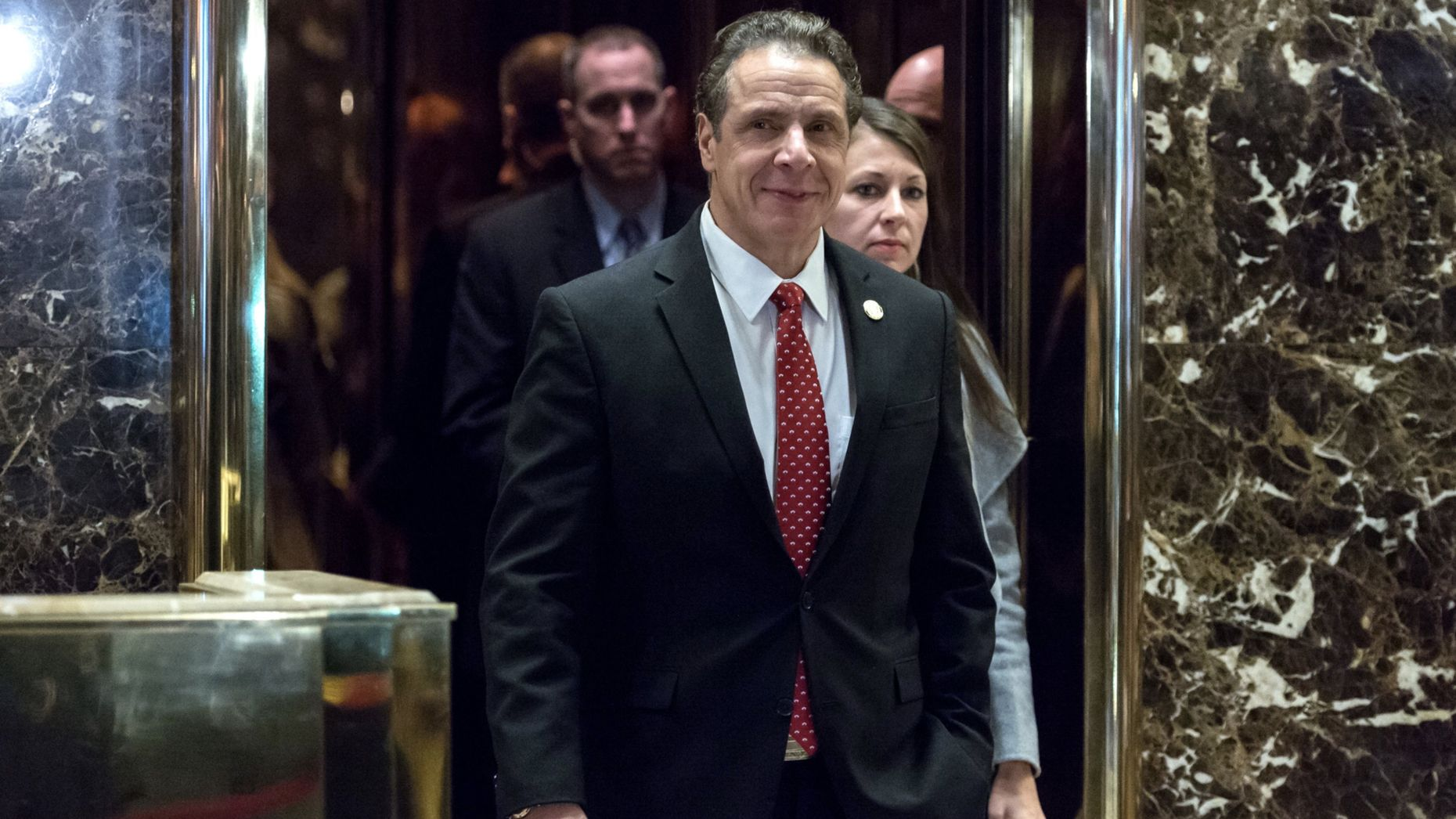 New York governor Andrew Cuomo. Photo by Bloomberg