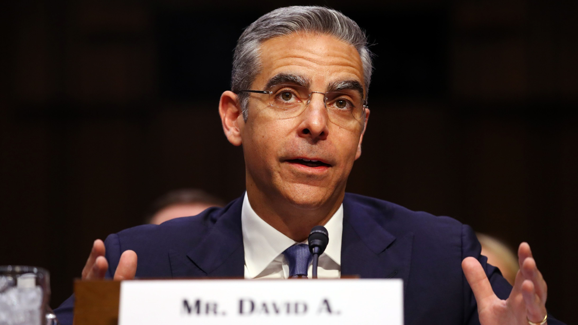 David Marcus, head of blockchain for Facebook. Photo by Bloomberg
