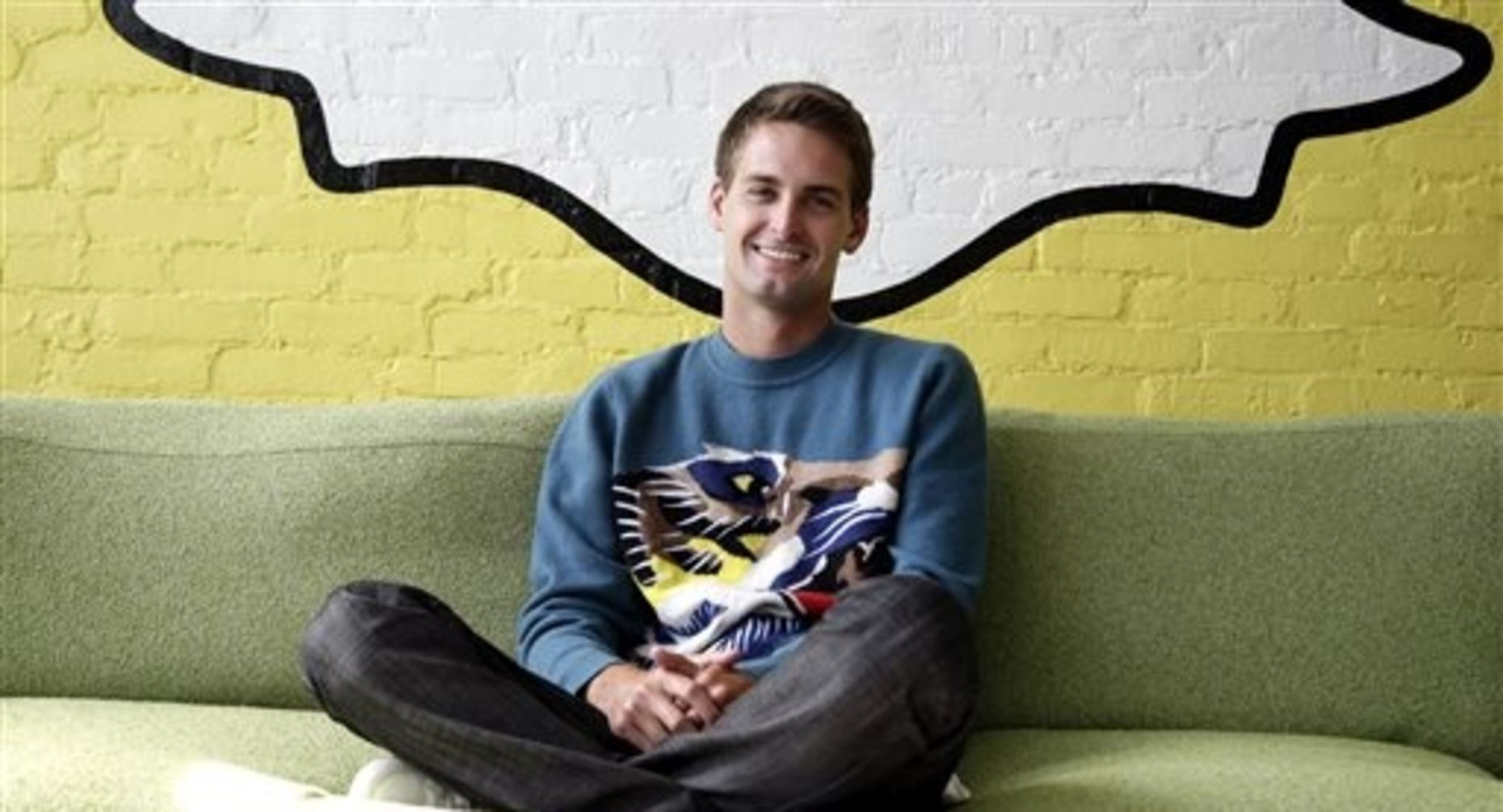 Snapchat CEO Evan Spiegel. Photo by Associated Press.