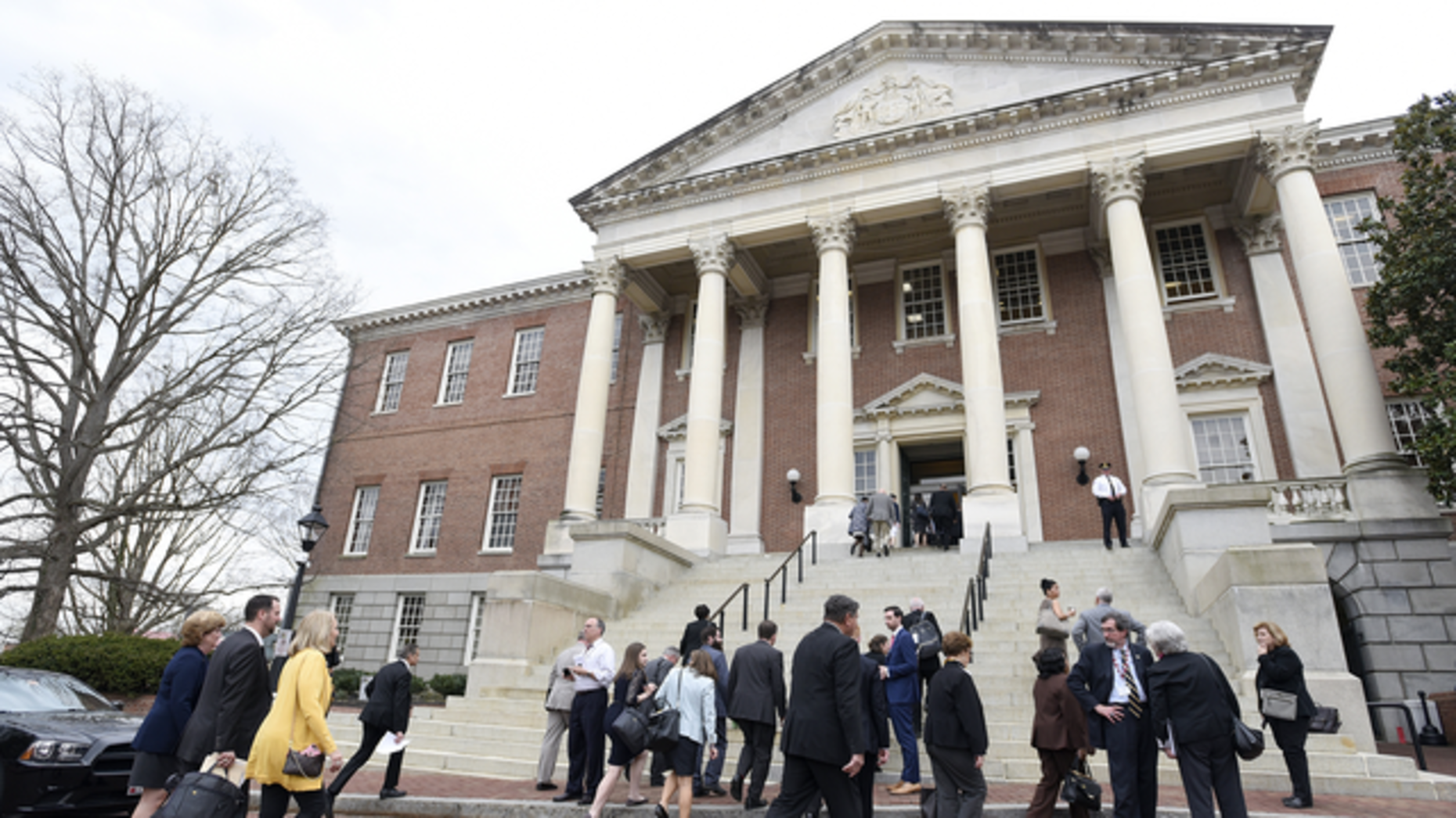 The Maryland State House in Annapolis, Md. Photo: AP.