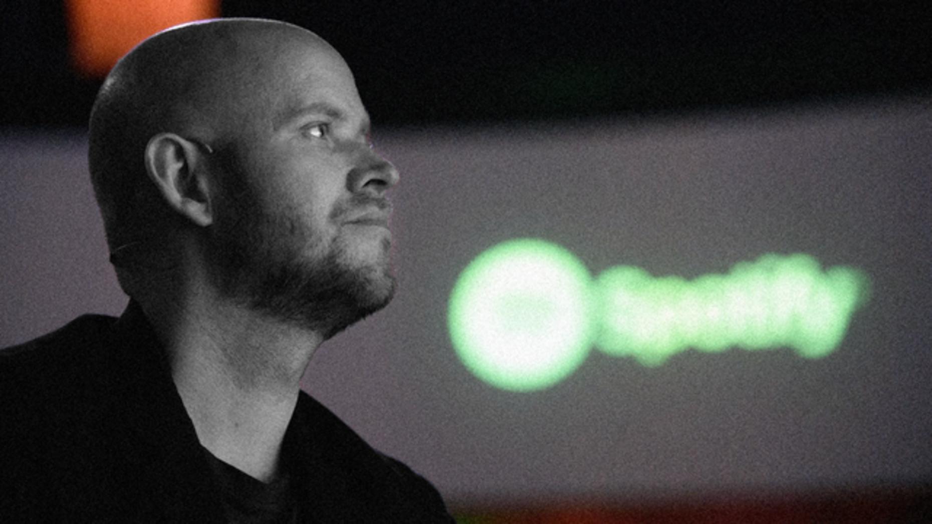 Spotify CEO Daniel Ek. Photo by Bloomberg