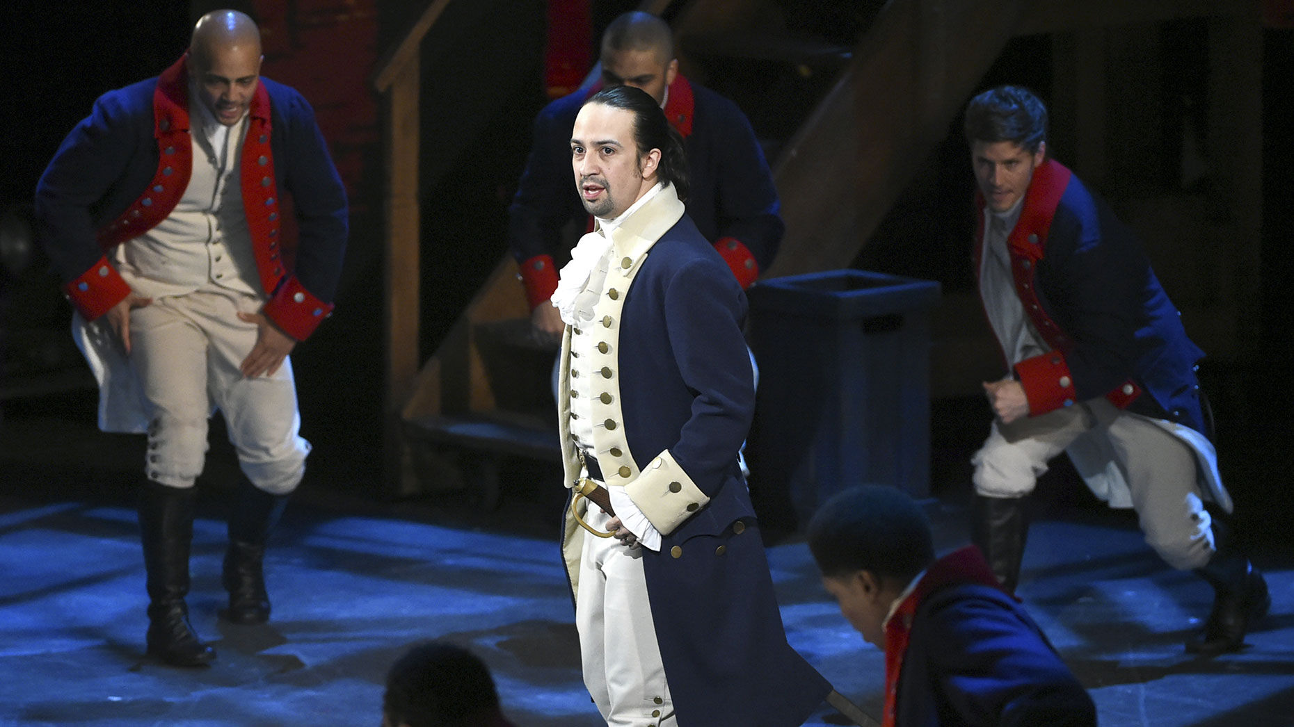 """Disney will bring a movie version of """"Hamilton"""" to Disney+ in July. Photo by AP"""