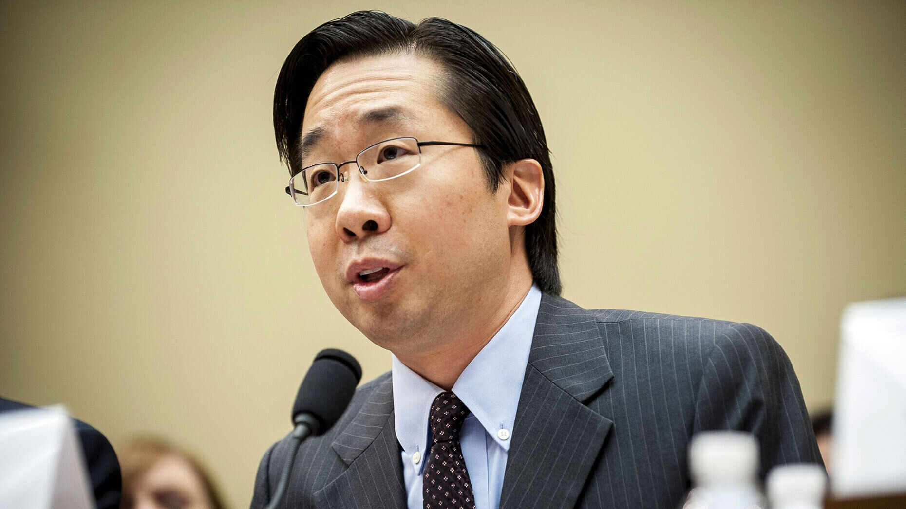 Devoted Health cofounder Todd Park when he was the U.S. chief technology officer in 2013. Photo: Bloomberg