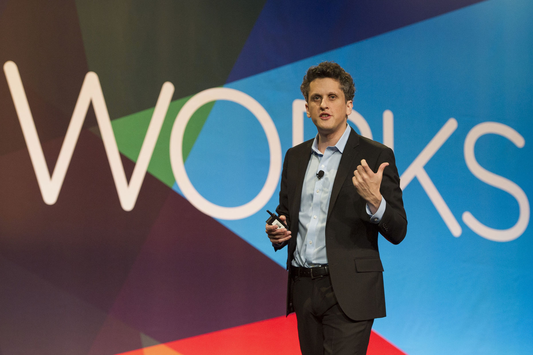 Box CEO Aaron Levie. Photo by Bloomberg.