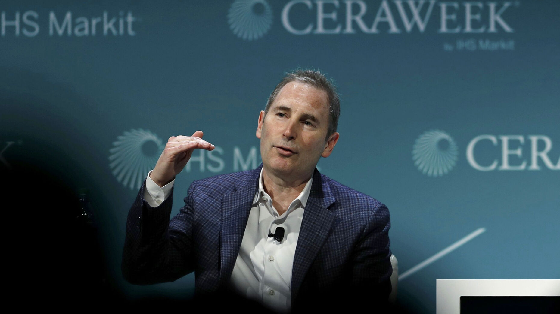 Amazon Web Services CEO Andy Jassy. Photo by Bloomberg