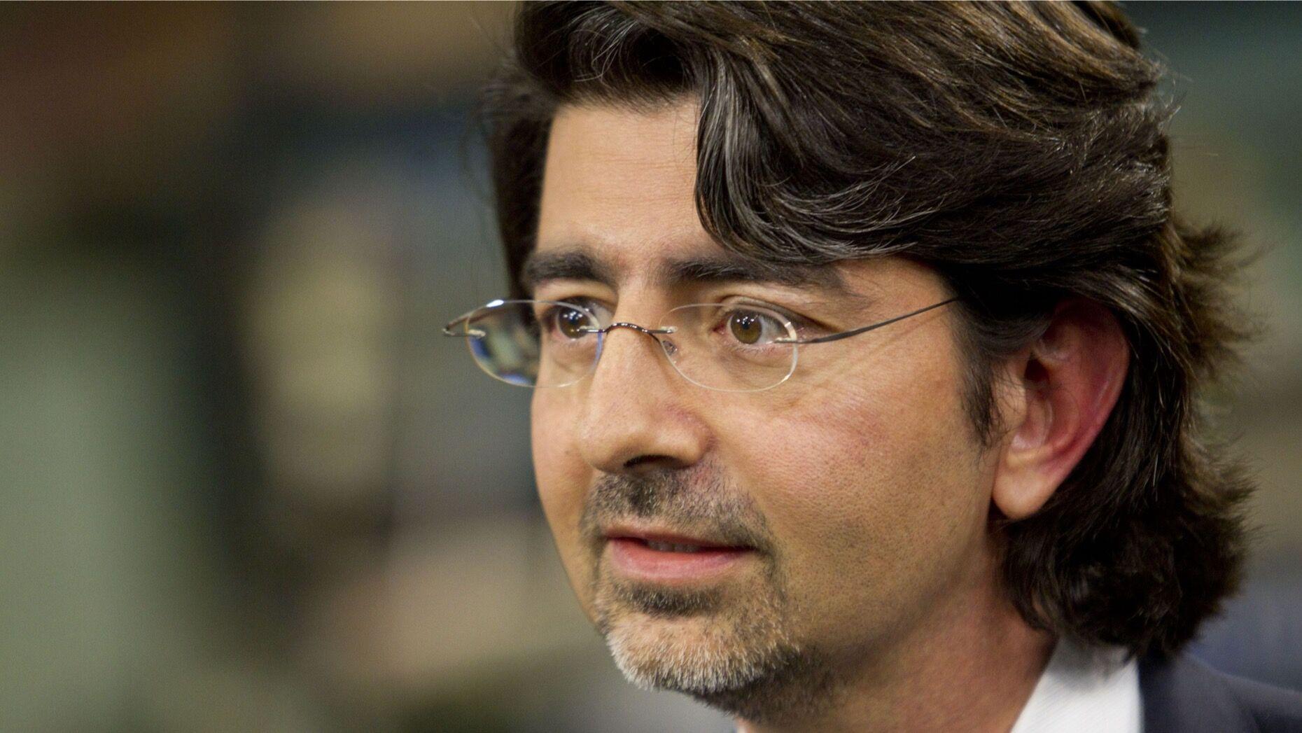 Pierre Omidyar, shown in 2010. Photo: Bloomberg