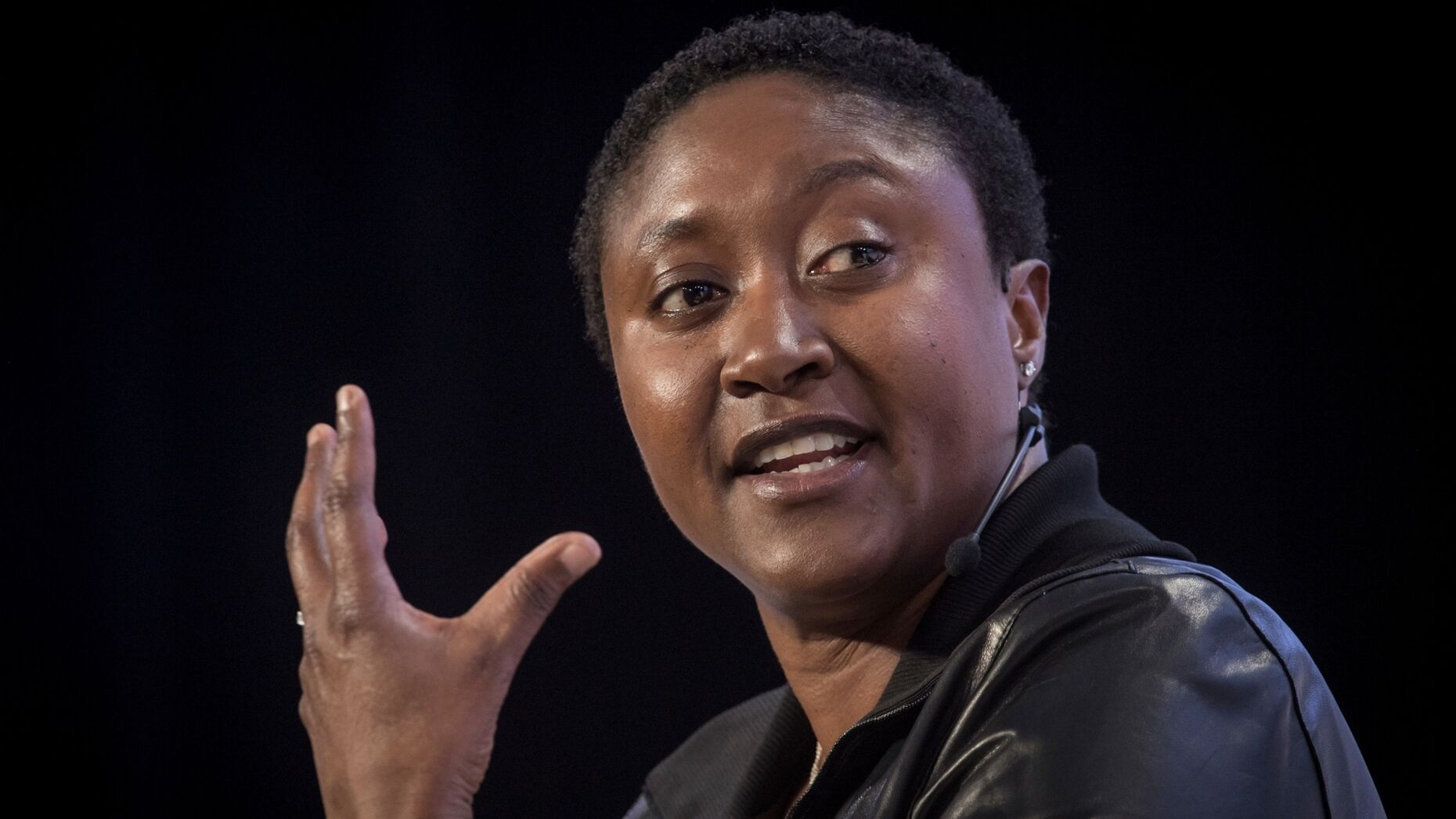 Zoox CEO Aicha Evans. Photo by Bloomberg