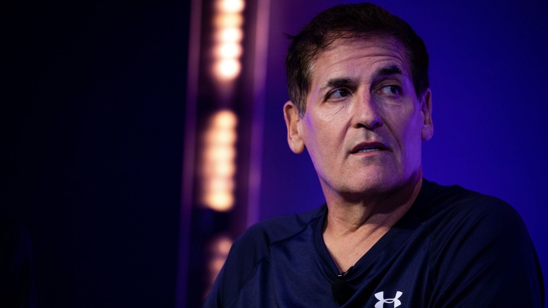 Mark Cuban. Photo by Bloomberg