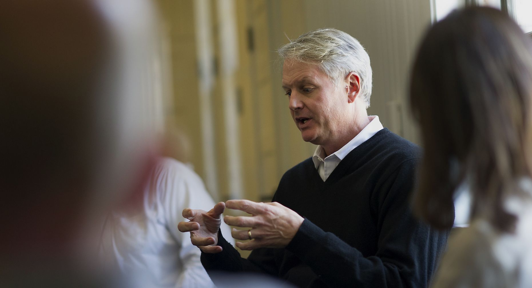 eBay CEO John Donahoe. Photo by Bloomberg.