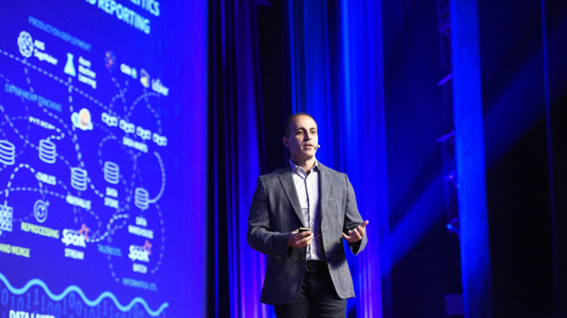 Ali Ghodsi, CEO of Databricks. Image: Databricks