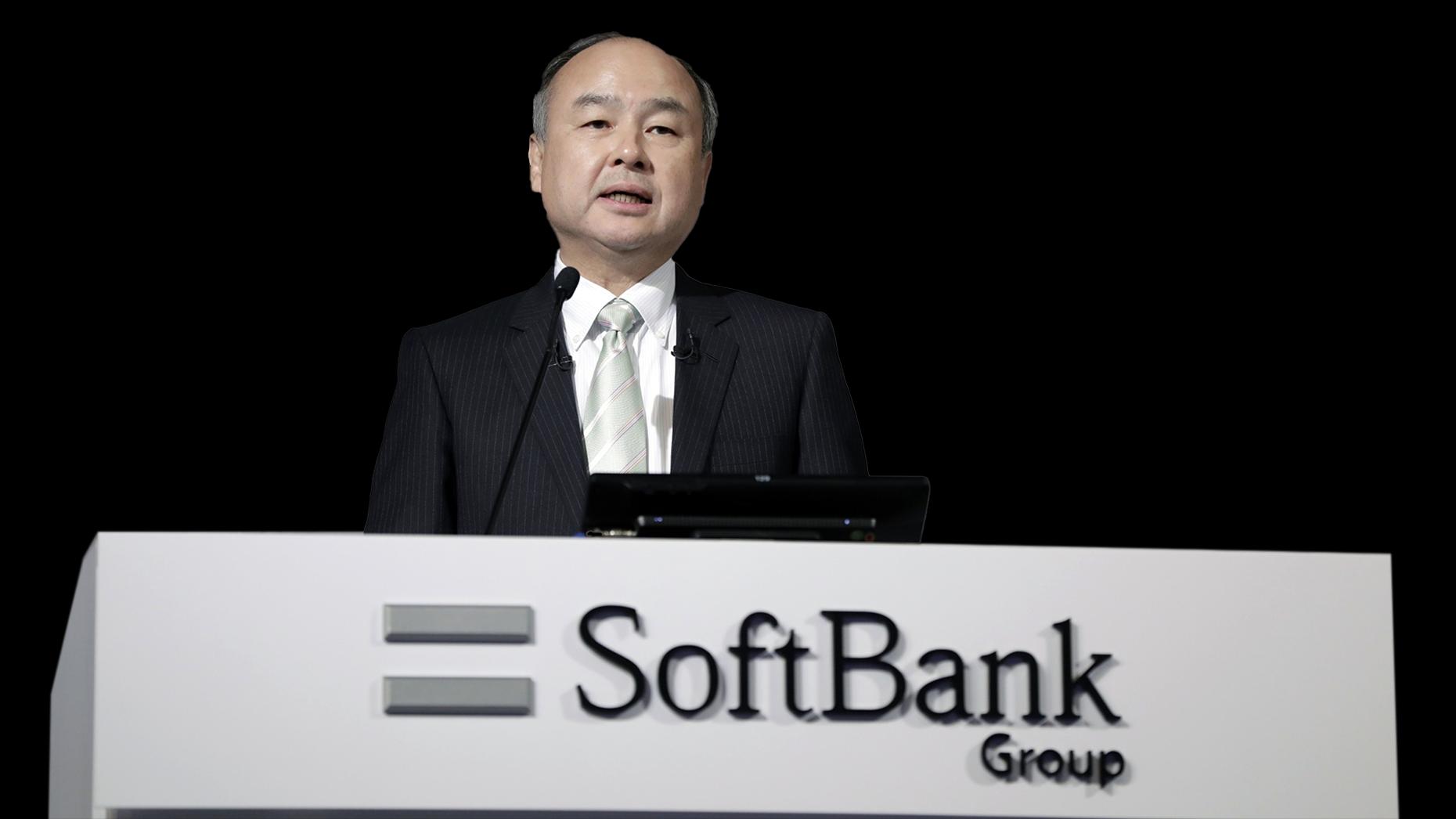SoftBank founder Masayoshi Son. Photo: Bloomberg