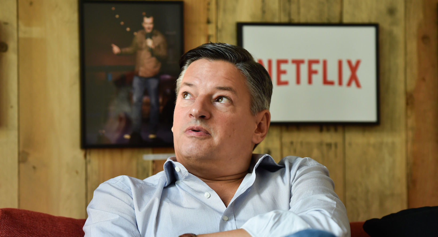 Netflix content chief Ted Sarandos. Photo by Associated Press.