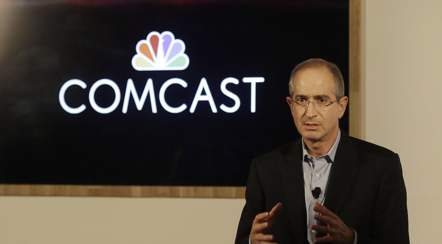 Comcast CEO Brian Roberts in San Francisco this month. Photo by Associated Press.