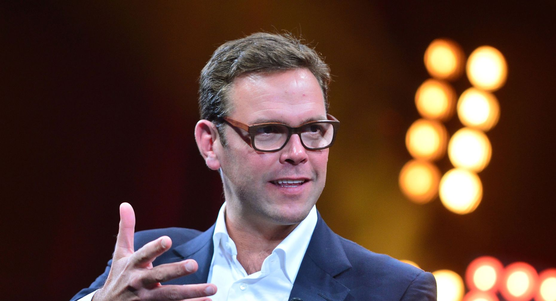 James Murdoch, co-chief operating officer of 21st Century Fox in October. Photo by Bloomberg.