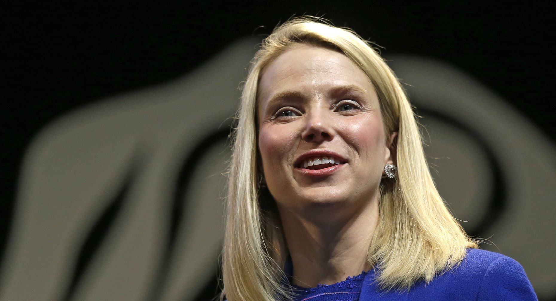 Yahoo CEO Marissa Mayer; photo by AP